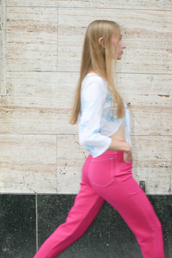 Belfe Pink Trousers