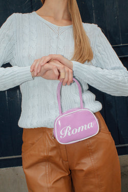 Purple Roma Mini Bag