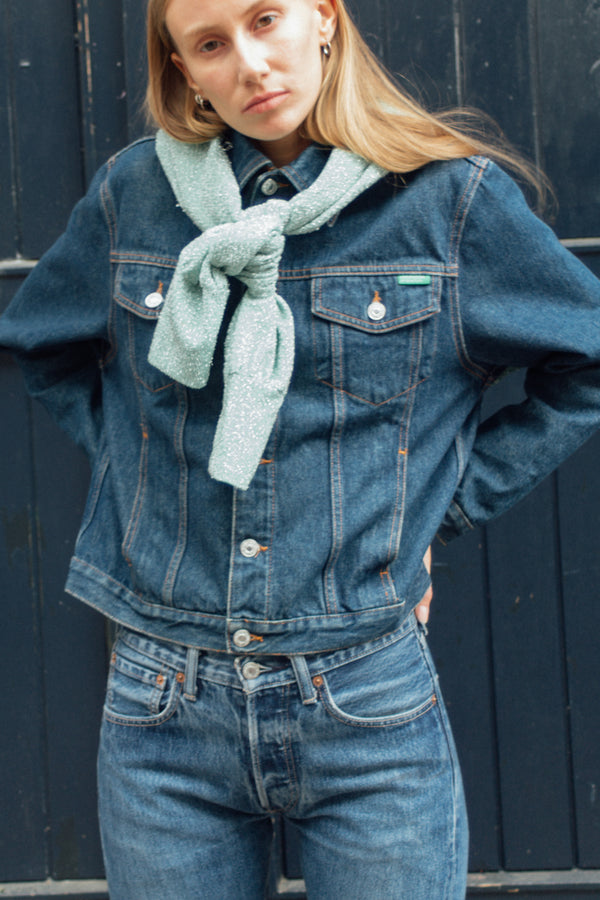 Benetton Blue Denim Jacket