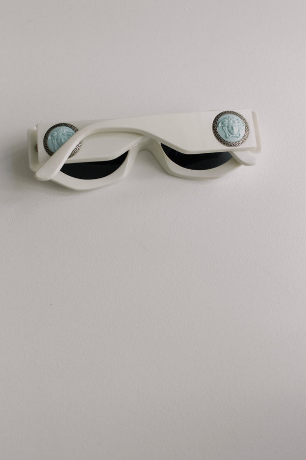 Gianni Versace White Sunglasses