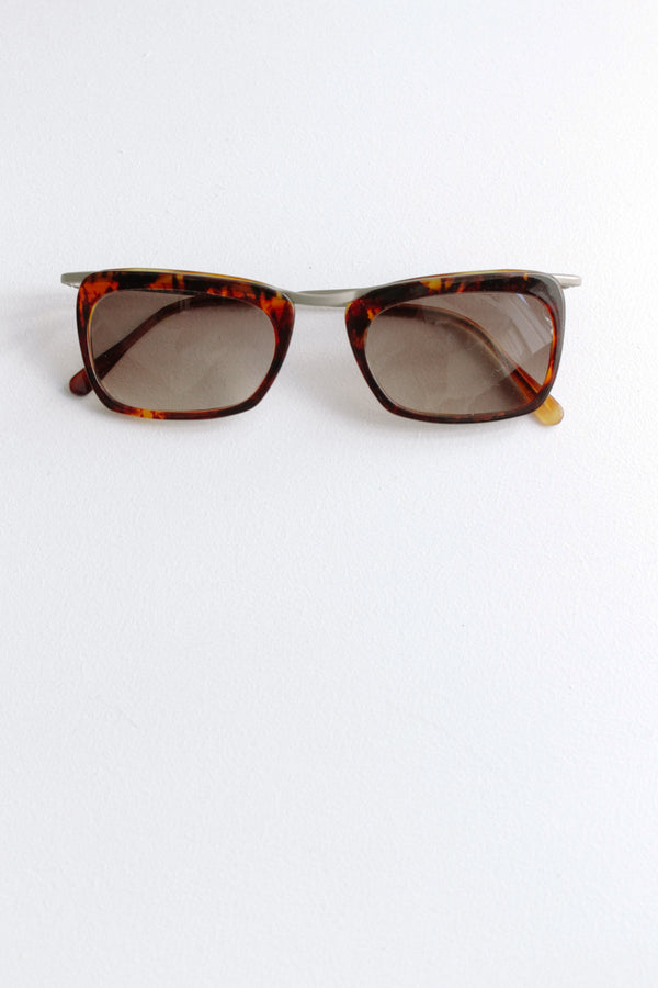 Vintage Romeo Gigli Brown Sunglasses