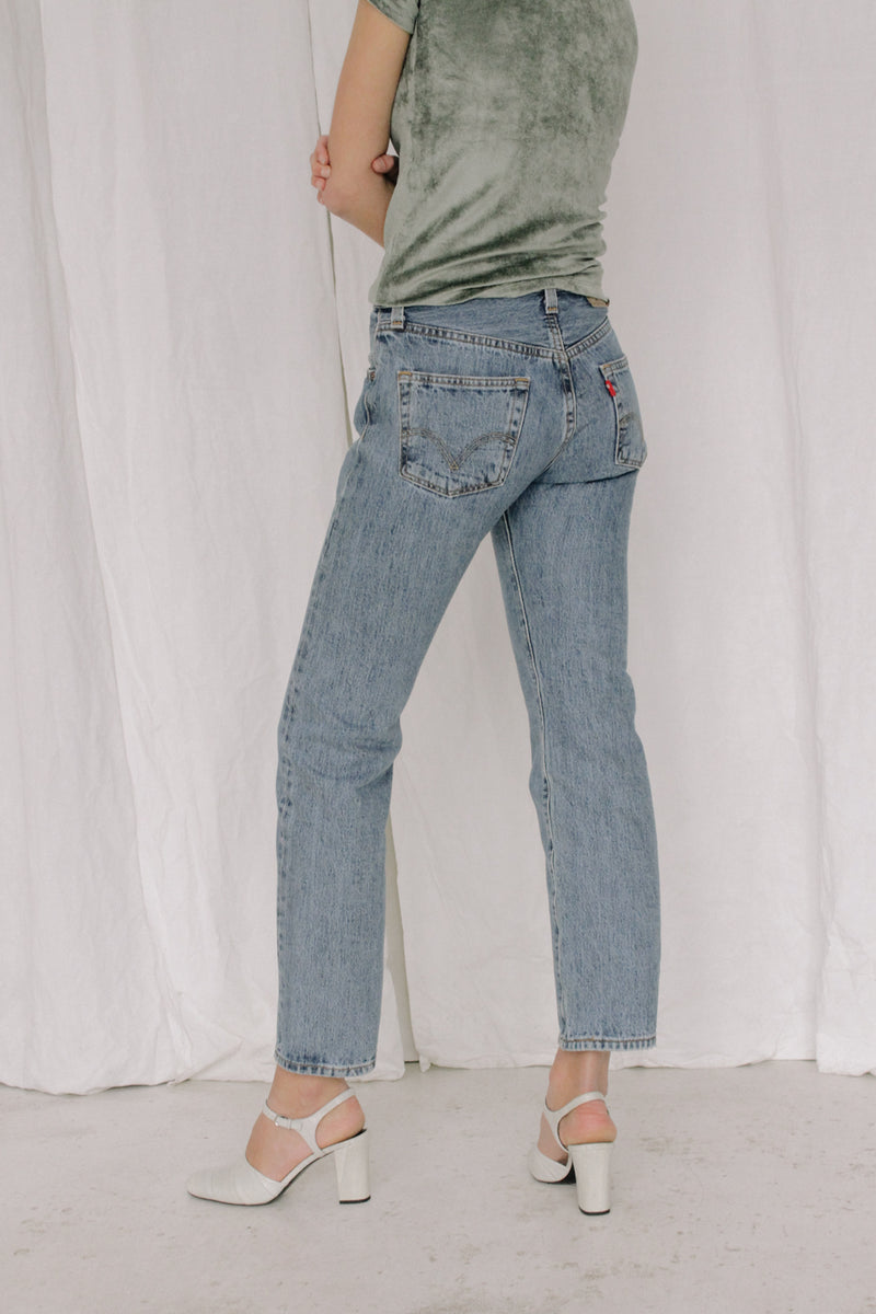 Levi's Light Blue Jeans 501