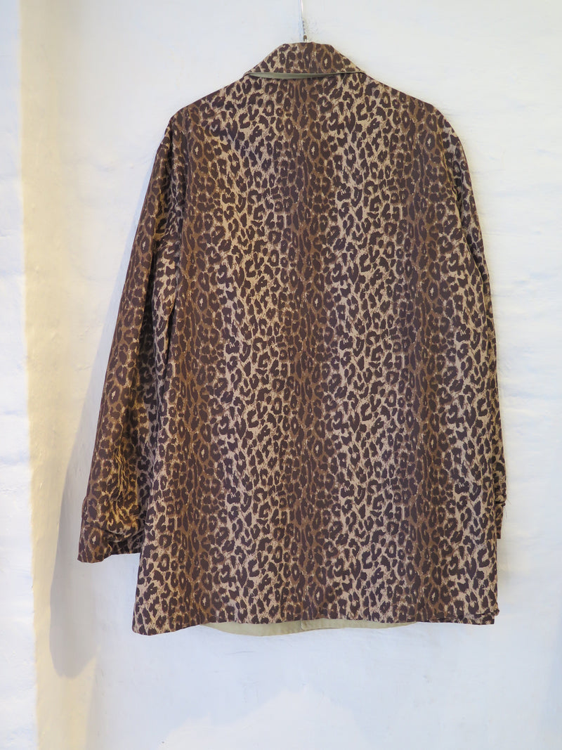 Dolce & Gabbana Leopard Two-Way Jacket