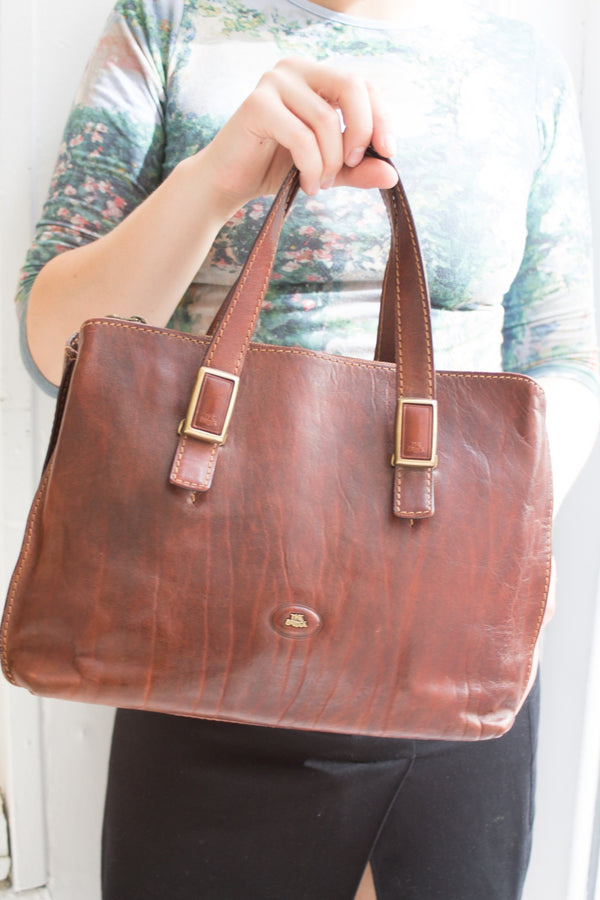The Bridge Brown Leather Bag
