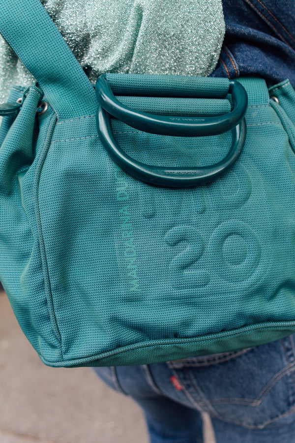 Mandarina Duck Sea Green Bag