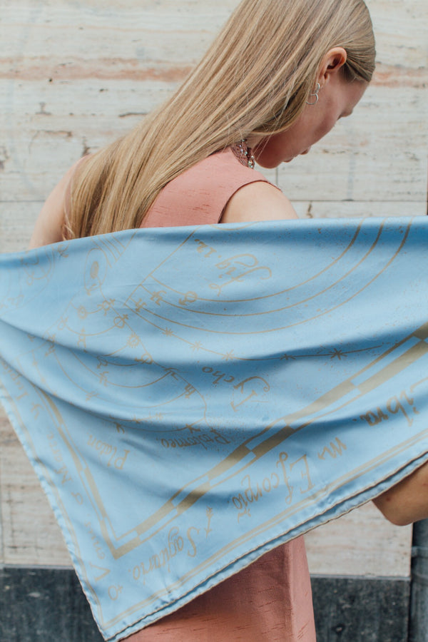 Astrology Silk Scarf