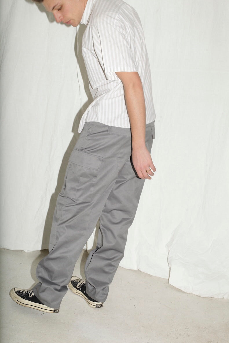 Grey Army Pants