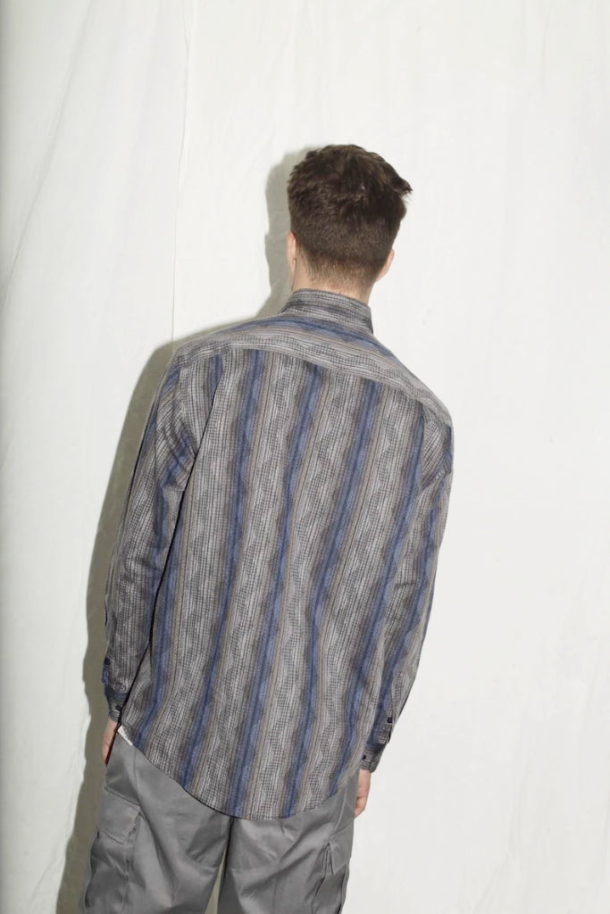 Missoni Sport Blue Pattern Shirt