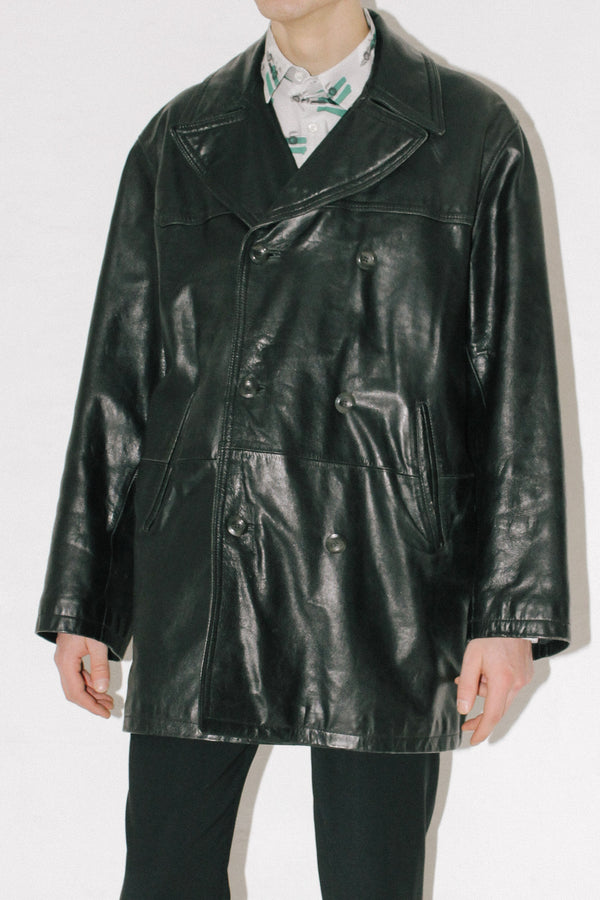 Versace Sport Leather Jacket