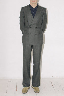 Bottega Veneta Checked Wool Suit