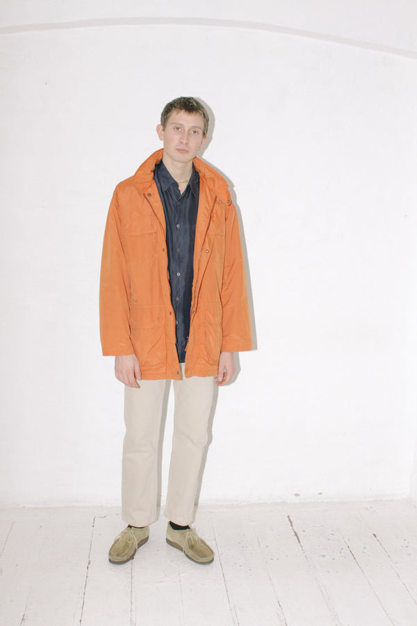 Ermenegildo Zegna Orange Jacket
