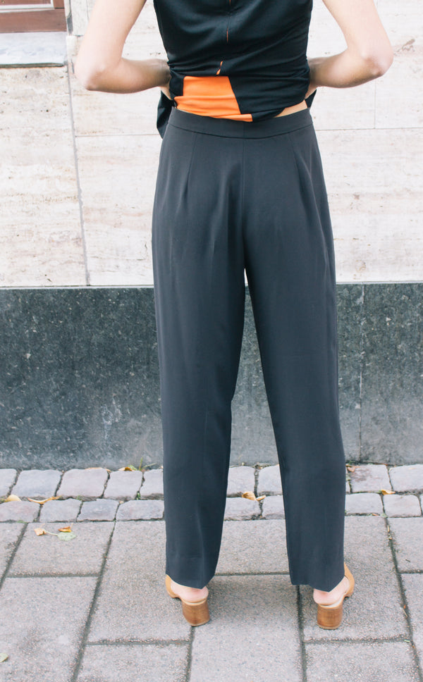 Max Mara Black Tailored Trousers