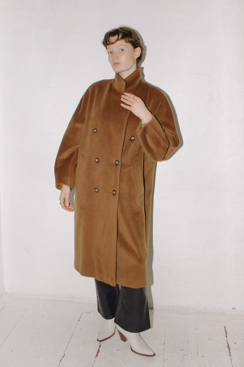 Iconic Max Mara Wool Cashmere Coat