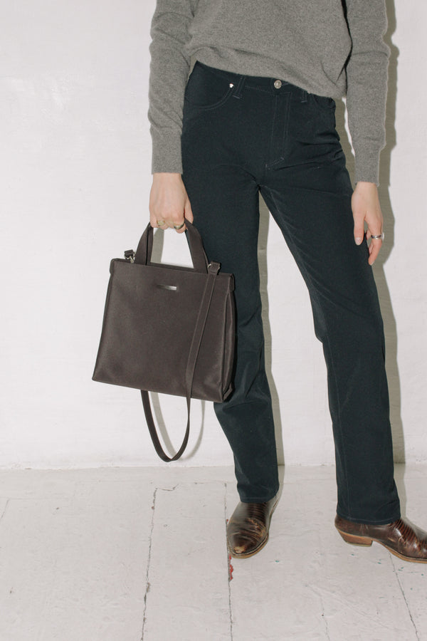 Laura Biagiotti Brown Nylon Bag