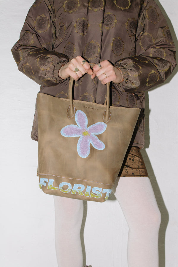 Western Bucket Bag in Brown