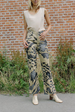 Just Cavalli Printed Trousers