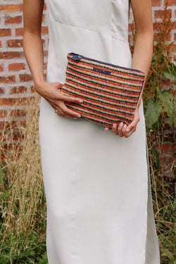Missoni textured clutch bag