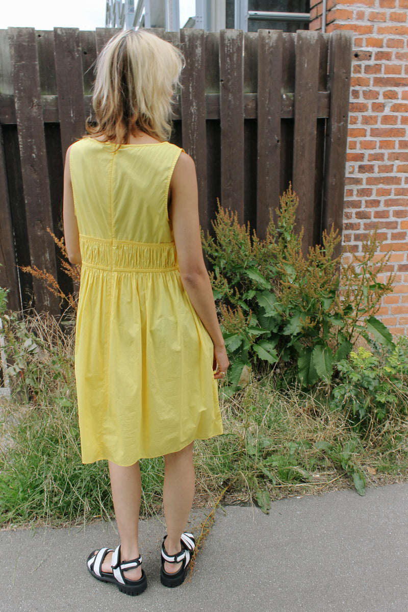 Stefanel yellow sundress