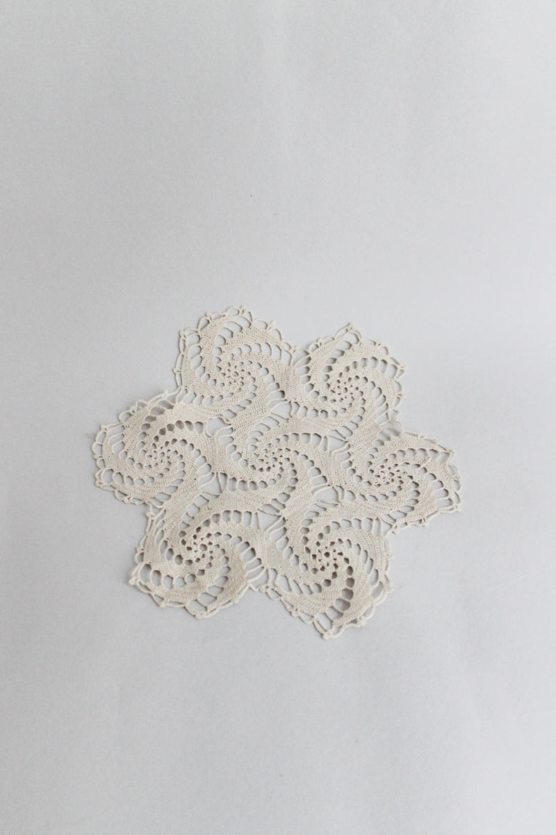 Vintage Crochet Table Mat
