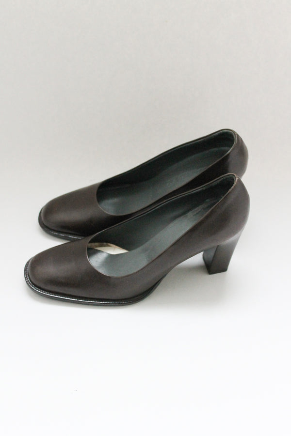 Vintage Jil Sander Brown Pump