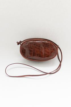 Brown Small Leather Bag