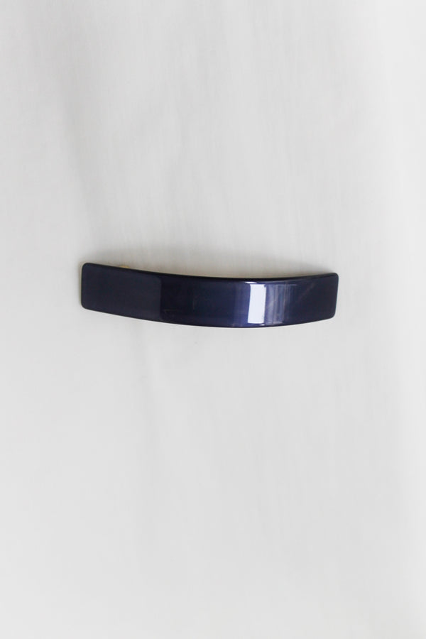 McDavidian Thin Navy Ponytail Hairclip
