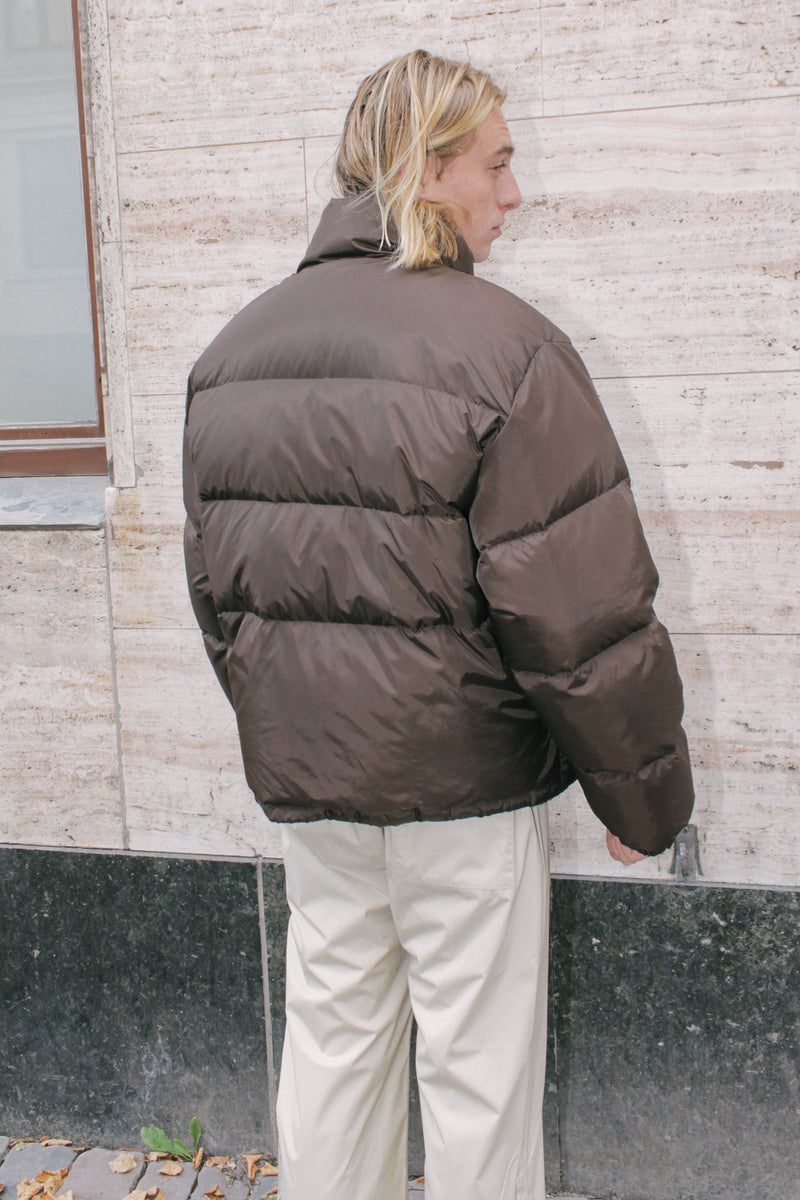 Brown Down Jacket