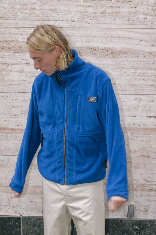 Vintage Helly Hansen Blue Fleece Jacket