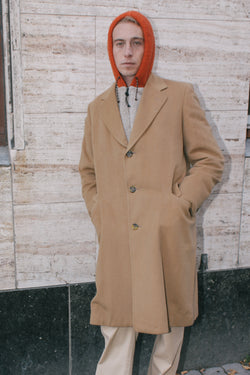 Burberry Camel Wool Coat