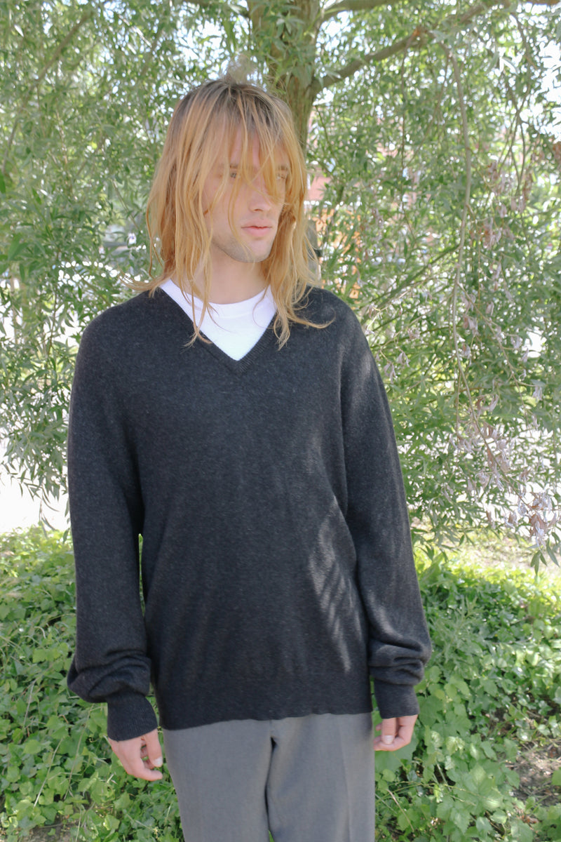 Ballantyne v-neck cashmere sweater