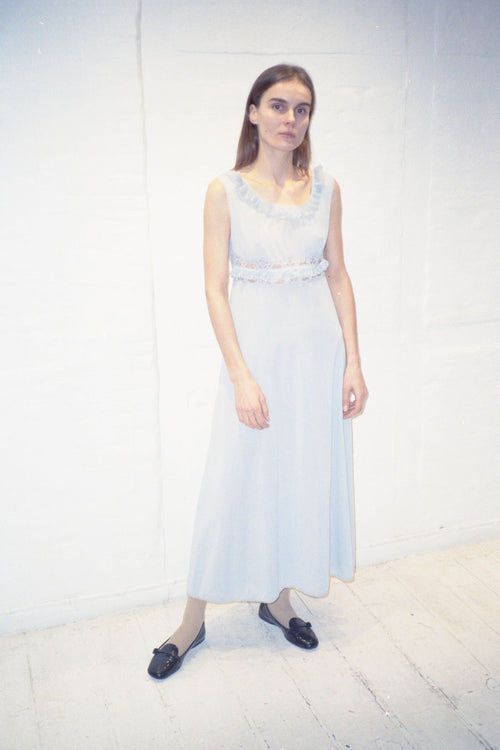 Vintage Light Blue Gown