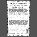 Getting To Know Jesus Bible Reading Pack