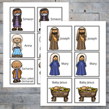 The Story of Jesus Birth Bible Lesson Pack