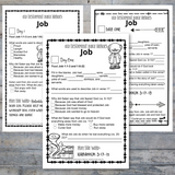 Old Testament Heroes - Job Bible Reading Pack