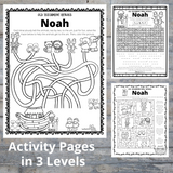 Old Testament Heroes - Noah Bible Pack