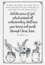 Quiet Meditations Prayer Journal and Coloring Pages