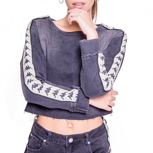 Crop Top Dama Authentic Denim 304IXC0-2