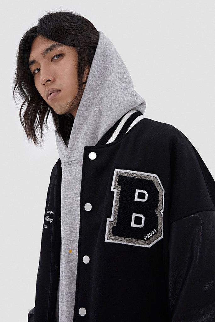 BONELESS Team Baseball Jacket - INTL Collective