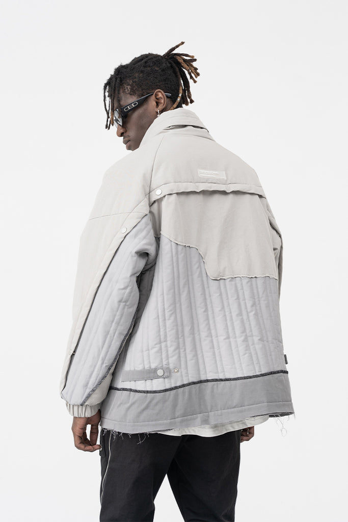 Deconstructed Industrial Jacket - INTL Collective