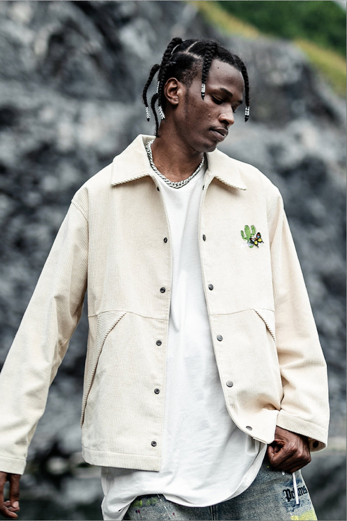 Deserted Corduroy Jacket - INTL Collective