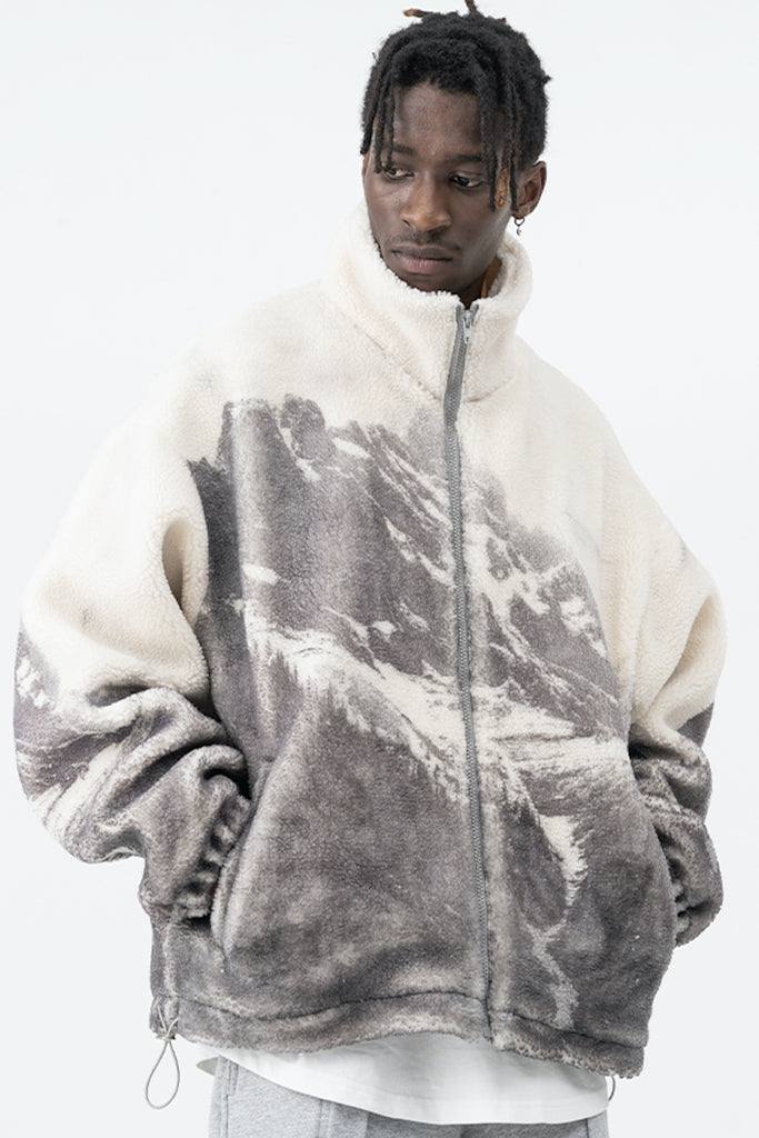 Snow Mountain Sherpa Jacket - INTL Collective