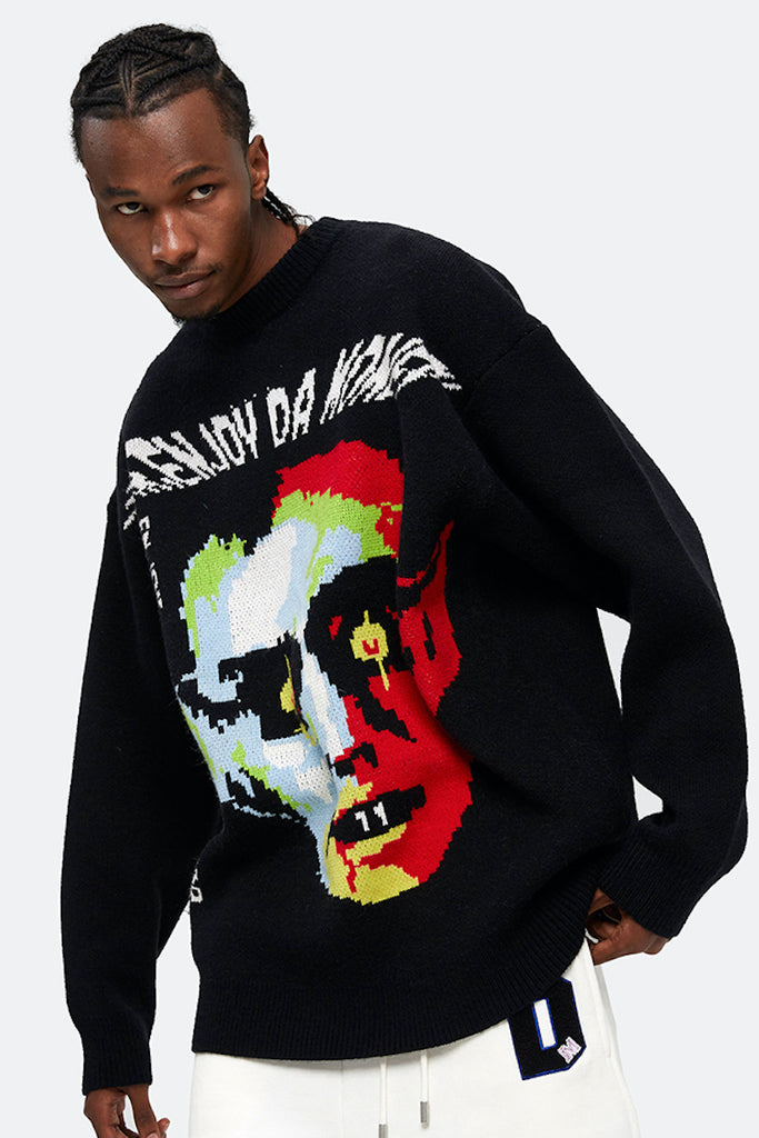 Devil's Lair Knit Sweater - INTL Collective