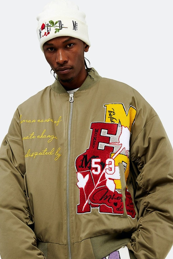 Varsity MA-1 Bomber Jacket - INTL Collective