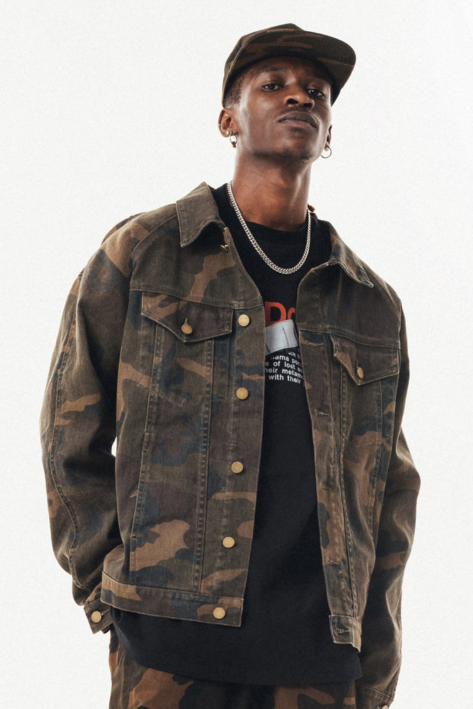 Camo'd Out Jacket - INTL Collective