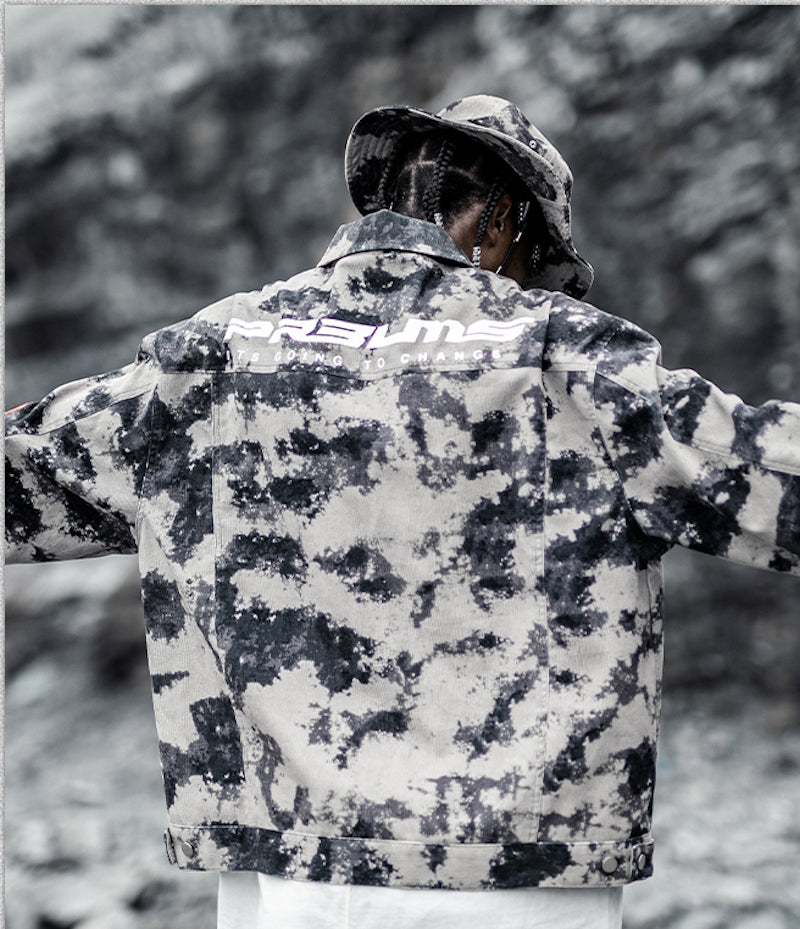 Desert Graph Military Jacket - INTL Collective