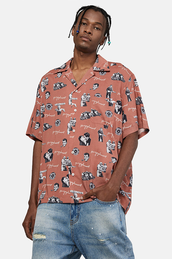 Hollywood Short Sleeve Button Down - INTL Collective