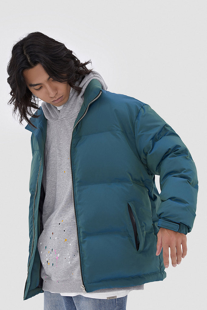 Iridescence Bubble Jacket - INTL Collective