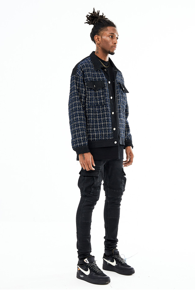 Reinvented Denim Jacket - INTL Collective