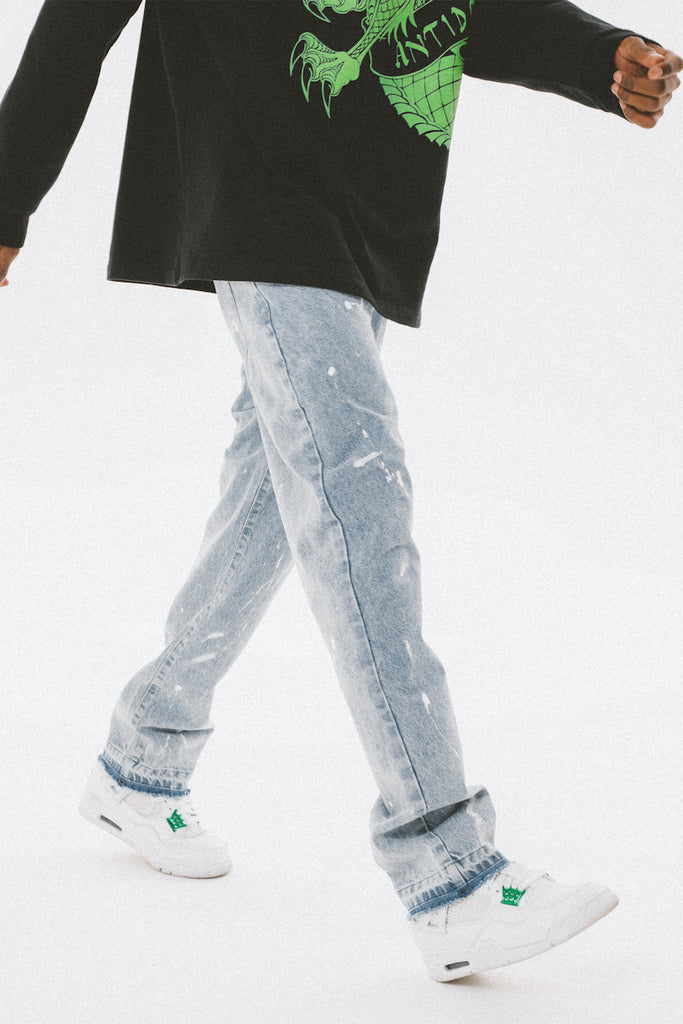 Painted Jeans - INTL Collective