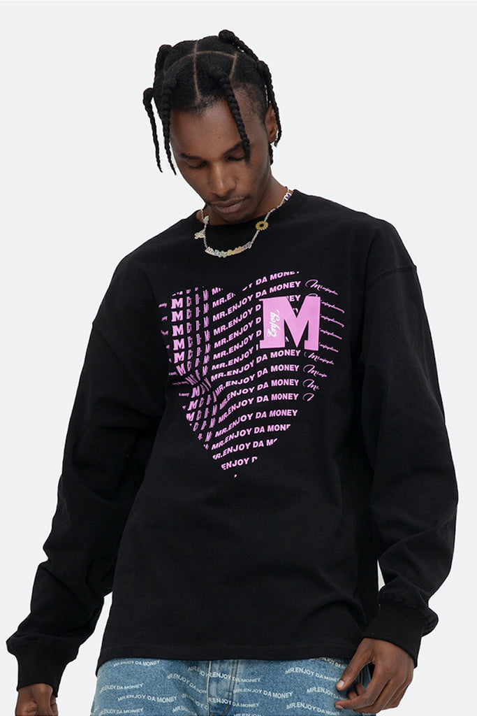 Heart Of Money Long Sleeve - INTL Collective